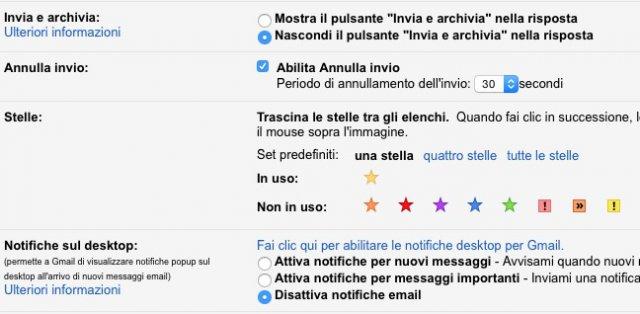 Gmail annulla invio
