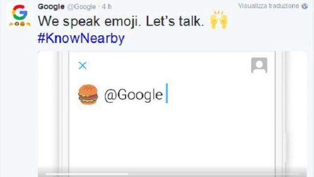 Google, ricerche con emoji via Twitter