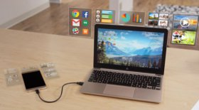 Superbook trasforma lo smartphone Android in un notebook con meno di 100 dollari