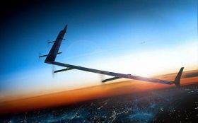 Primo volo per Aquila, il drone solare di Facebook, che porta Internet nel mondo