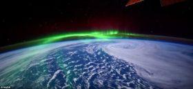 Straordinarie immagini dallo Spazio di un Aurora Borealis in 4K