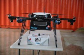 I droni ti porteranno la pizza a domicilio