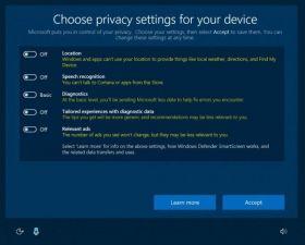Windows 10, in arrivo il pannello di controllo della privacy