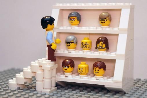 personaggi famosi Lego