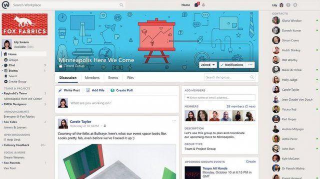 Facebook entra nelle aziende con Workplace Come funziona